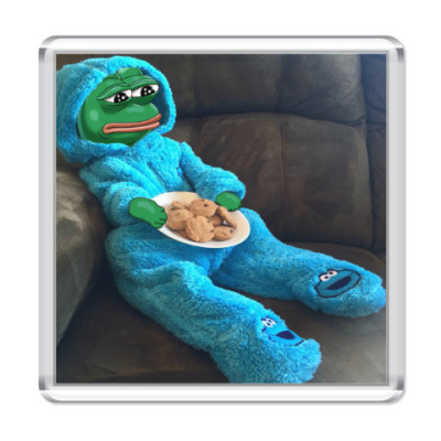 Магнит Pepe Frog