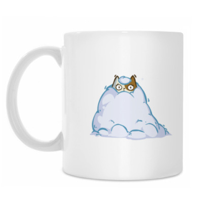 Кружка Снегокот — Пятничный Котик №40