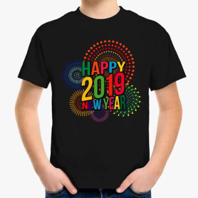 Детская футболка Новый год 2019