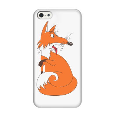 Чехол для iPhone 5/5s Fanny fox