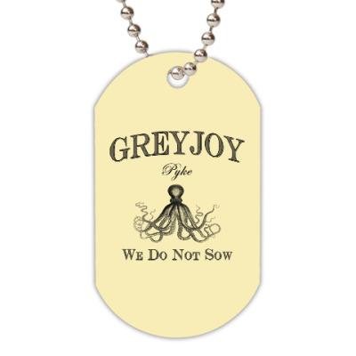 Жетон dog-tag Greyjoy