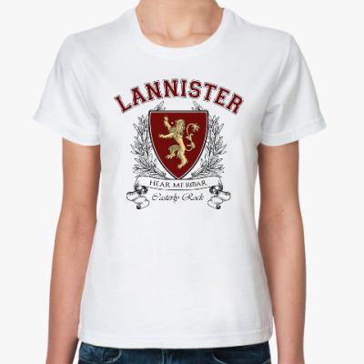 Классическая футболка House Lannister