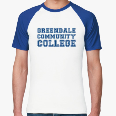 Футболка реглан Greendale Community College