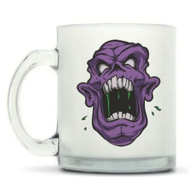 Кружка матовая Zombie, Зомби