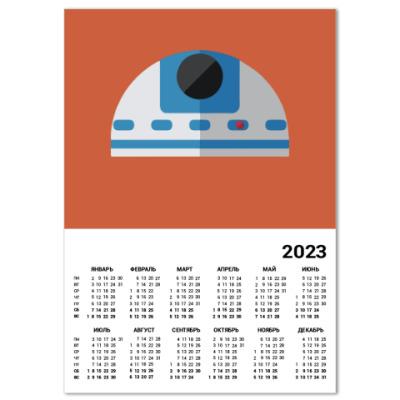 Календарь Star Wars: R2-D2
