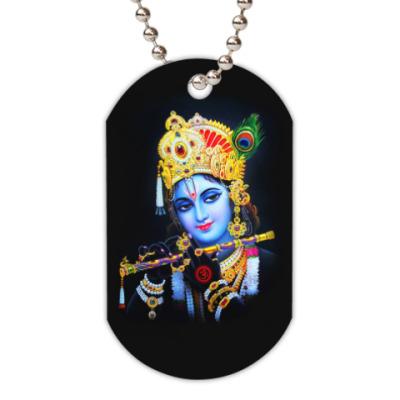 Жетон dog-tag Krishna
