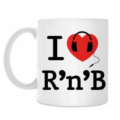 Кружка I Love R'n'B