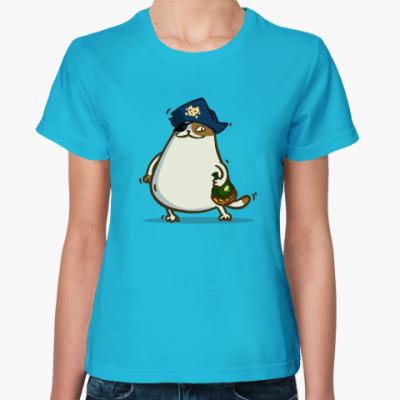 Женская футболка Пятничный Котик №21