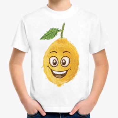 Детская футболка Весёлый лимон