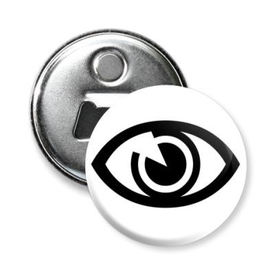 Магнит-открывашка Глаз