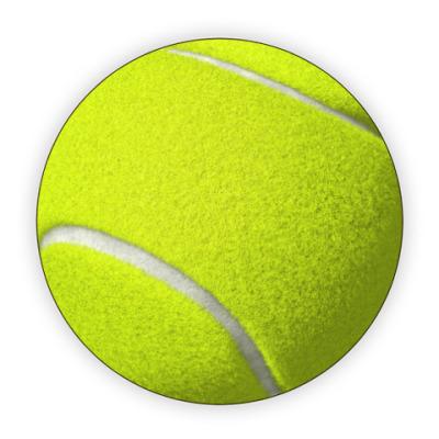 Костер (подставка под кружку) Теннисный мяч