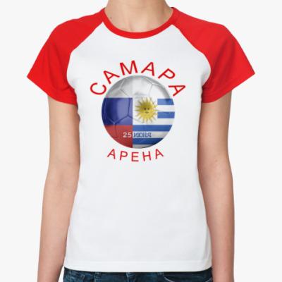 Женская футболка реглан  Матч дня-ЧМ2018