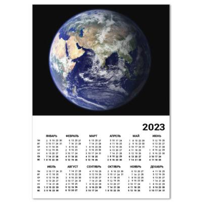 Календарь Планета Земля