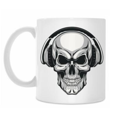 Кружка Music Skull
