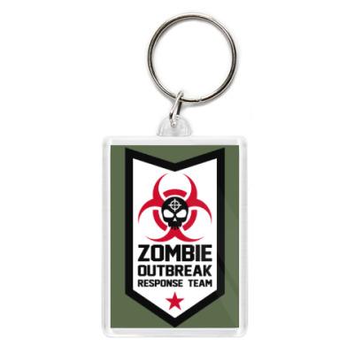 Брелок Zombie outbreak response team