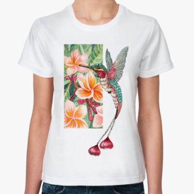 Классическая футболка Коллибри