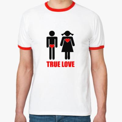 Футболка Ringer-T True Love