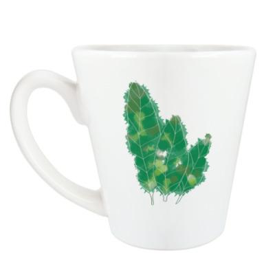 Чашка Латте Флора