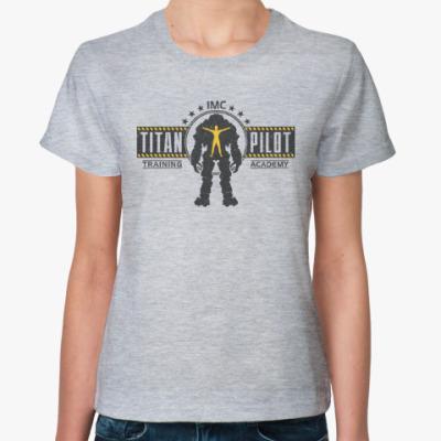Женская футболка Battlefield Titan Pilot