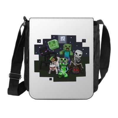 Сумка на плечо (мини-планшет) Minecraft