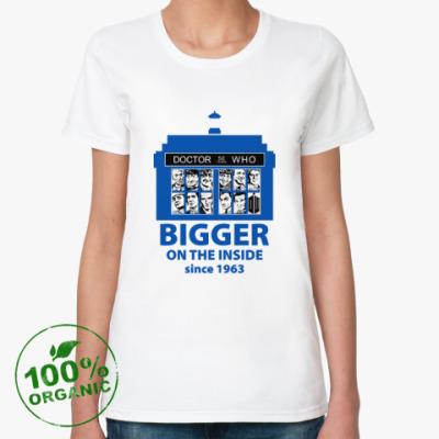Женская футболка из органик-хлопка DW 50
