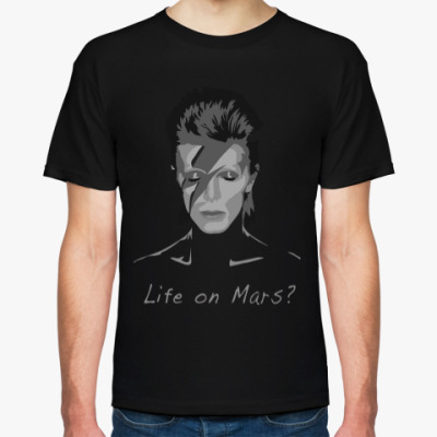 Футболка David Bowie - Life on Mars?