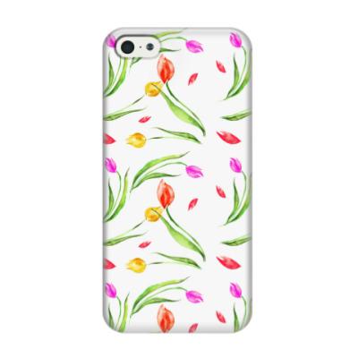 Чехол для iPhone 5/5s Тюльпановый рай!