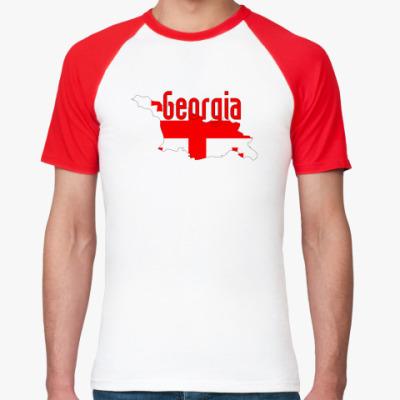 Футболка реглан Georgia (Грузия)