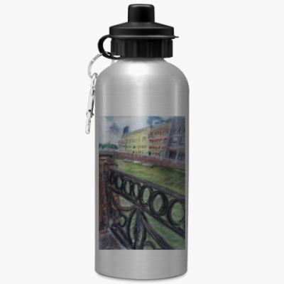 Спортивная бутылка/фляжка Наводнение на Мойке
