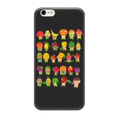Чехол для iPhone 6/6s Фрукты, Овощи и Ягоды