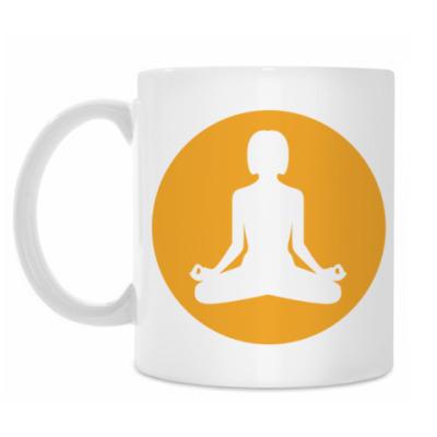 Кружка Yoga Girl