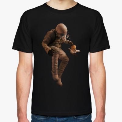 Футболка Космонавт с голубем