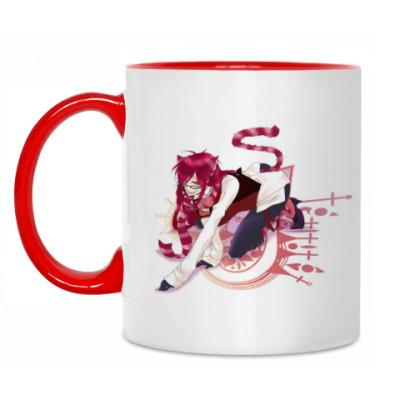 Кружка Grell Sutcliff (Cheshire Cat)