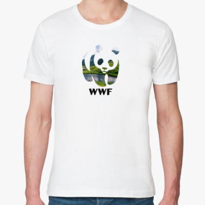 Футболка из органик-хлопка WWF. Панда. Природа