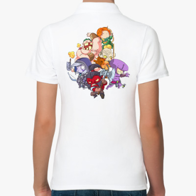 Женская рубашка поло Dota 2
