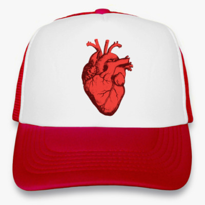 Кепка-тракер Сердце