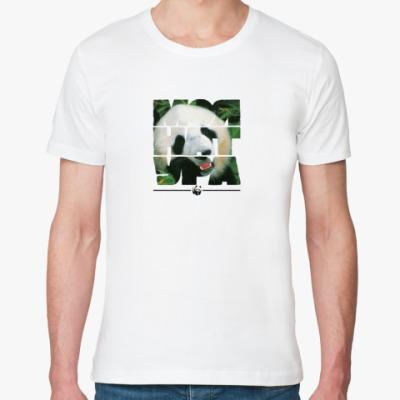 Футболка из органик-хлопка WWF. Моя натура - Панда!
