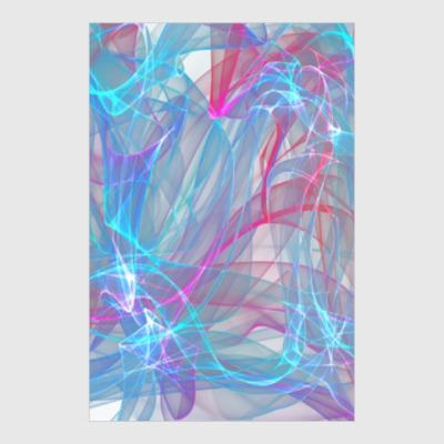 Постер abstract design