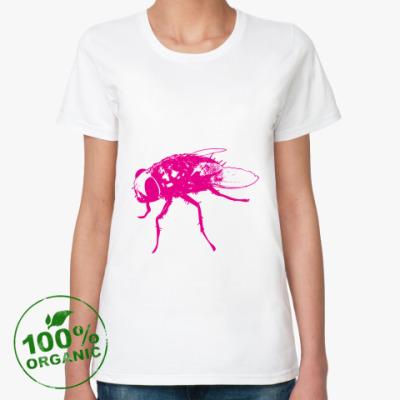 Женская футболка из органик-хлопка Fly