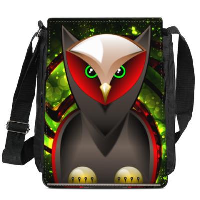 Сумка-планшет Сова, совушка, мудрые в городе