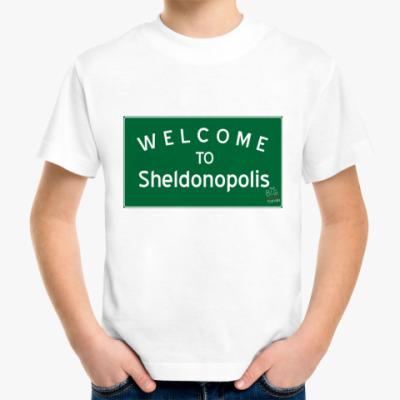 Детская футболка Sheldonopolis