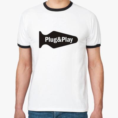 Футболка Ringer-T Plug & play