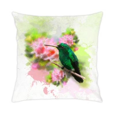 Подушка Колибри