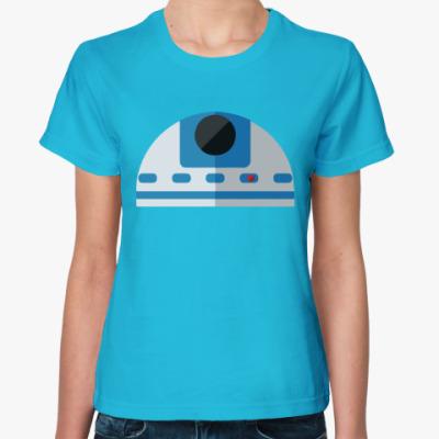 Женская футболка Star Wars: R2-D2