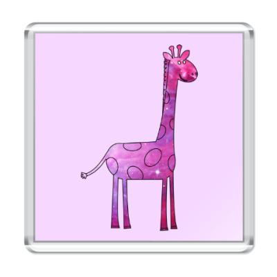 Магнит Космический Жираф