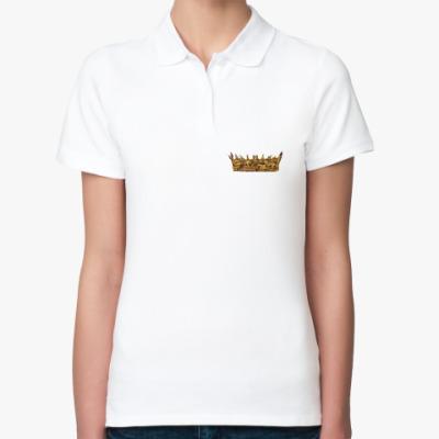 Женская рубашка поло Игра Престолов: Корона