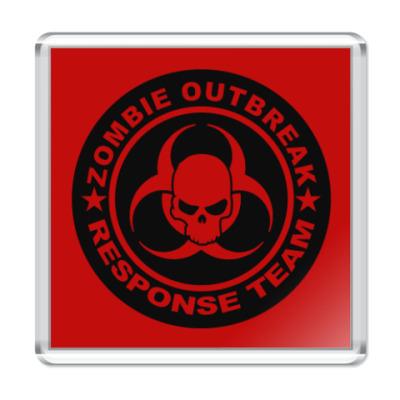 Магнит Zombie outbreak response team