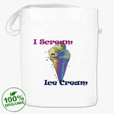 Сумка Прикольное мороженое