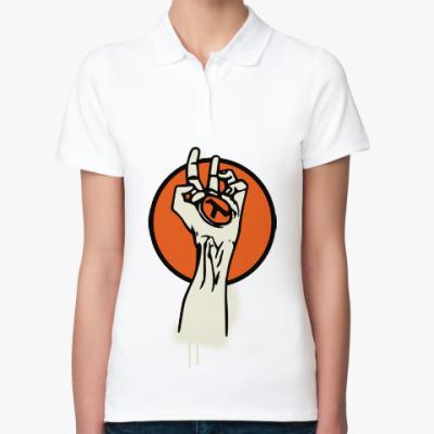 Женская рубашка поло Half-Life