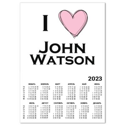 Календарь I <3  John Watson